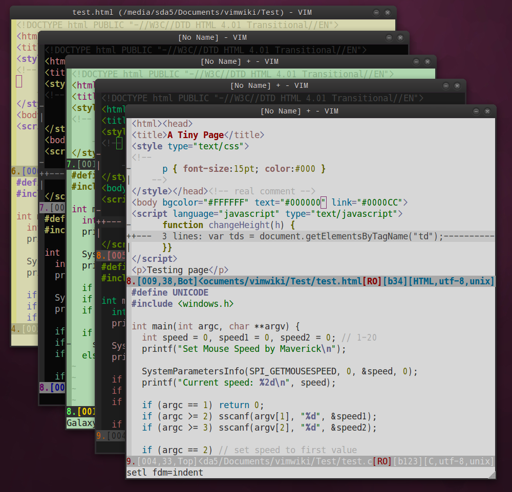 Vim Colorscheme Galaxy1 0 发布 Rykka S Blog